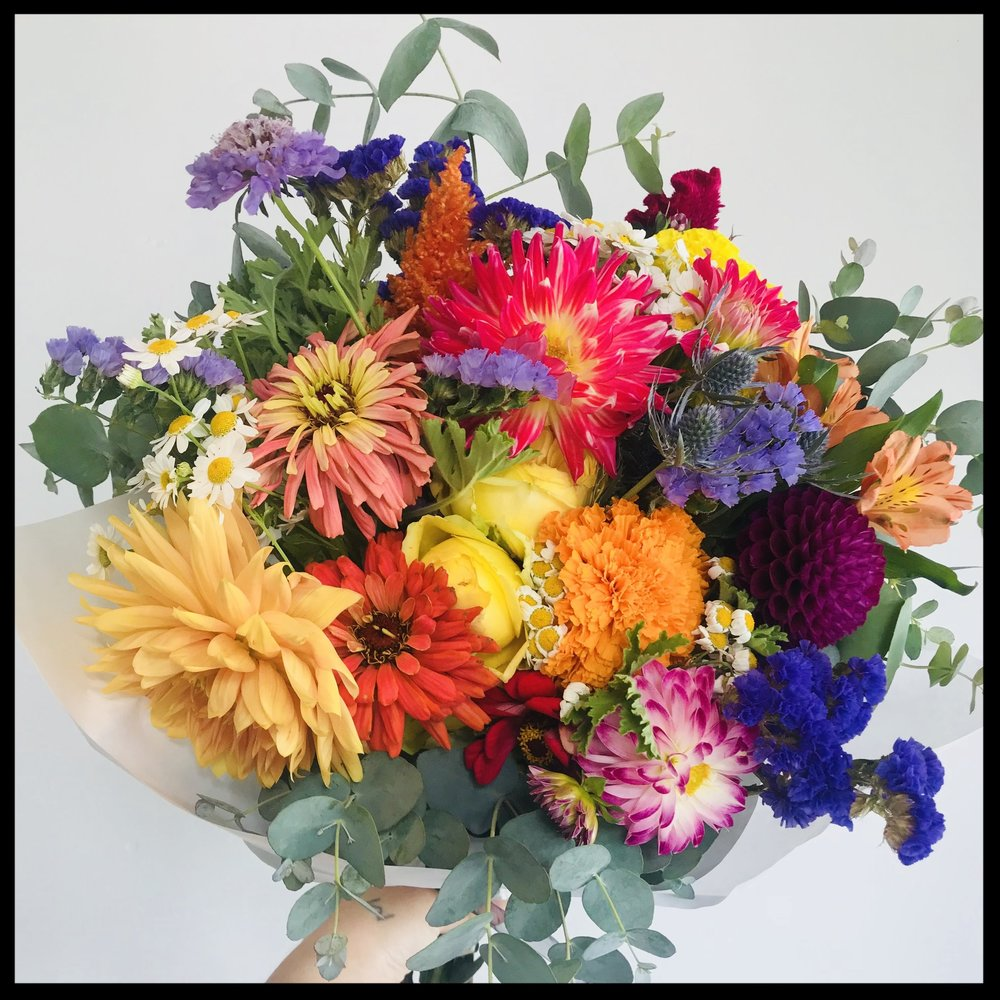 Keep 'em coming! - No long term commitments, just frequent flowers! Our subscription flower program can be weekly, monthly, or seasonally (every 4 months).Gorgeous Wrapped Bouquets or Vase Arrangements on a recurring basis and 15% off? What's not to love?!You simply choose the style, size, and frequency of flowers and we do the rest!