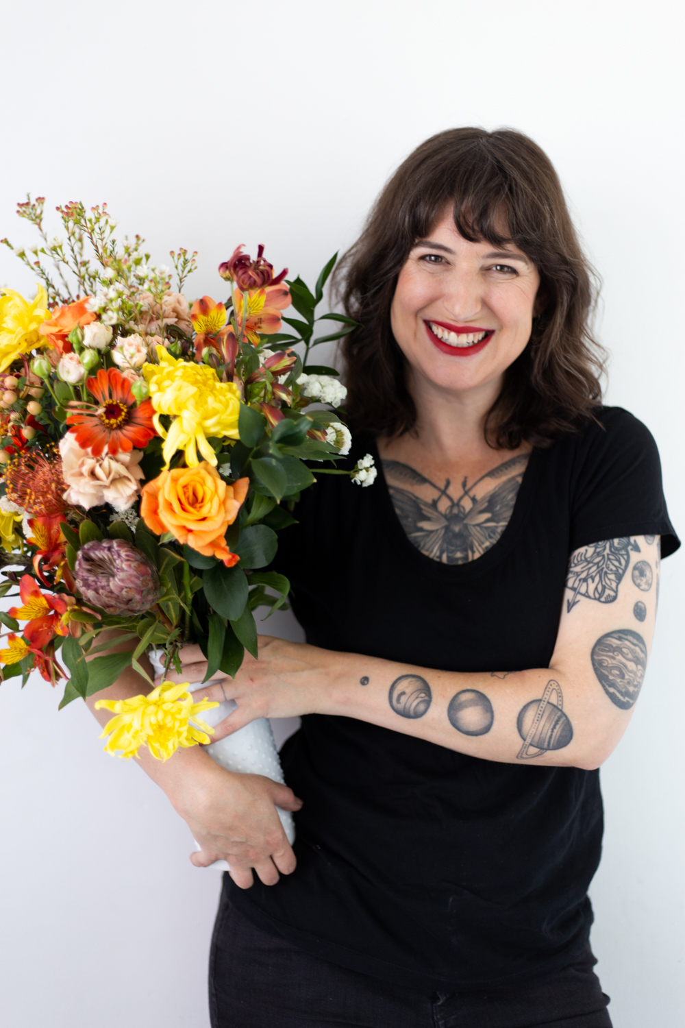 Sally Sparks - Designing with flowers has truly been a lifelong passion that continues to grow.For years, I've worked with some of San Francisco's leading floral designers. All of this knowledge and passion led me to open my own business. I now happily own and operate Sally Sparks Flowers & Design, a retail space and design studio in San Francisco's Mission District. Community is key and we are thrilled to be a part of ActivSpace, a building full of diverse small businesses and creatives. I love when neighbors stop in to pick up a bouquet, when local office workers surprise their co-workers with birthday gifts, and when someone trusts us to design and decorate their special event with gorgeous botanicals.My goal is to bring carefully chosen colors, scents, textures, beauty, and love to create stunning memories here in the San Francisco Bay Area and around the world.