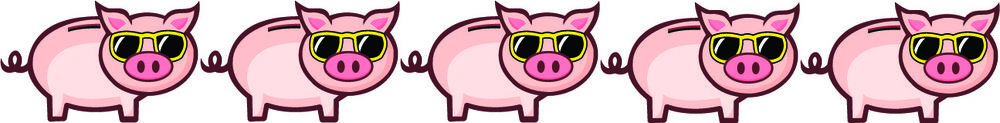 5 Pigs - This is a great example of frugalitude and is totally worth spending the time and/or money on!