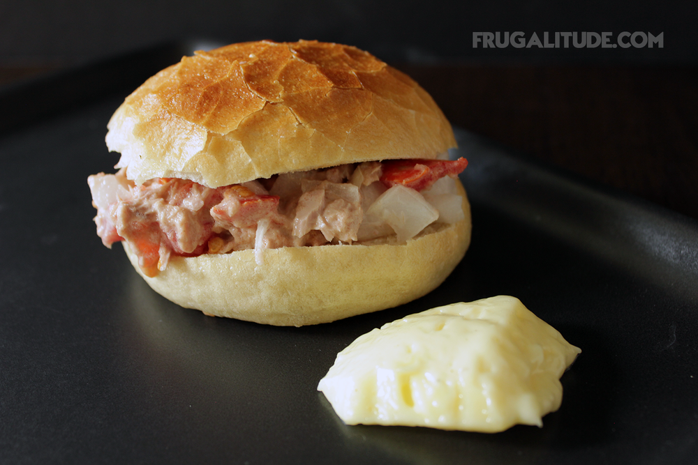 Tuna Mayonnaise Sandwich with Homemade Mayonnaise