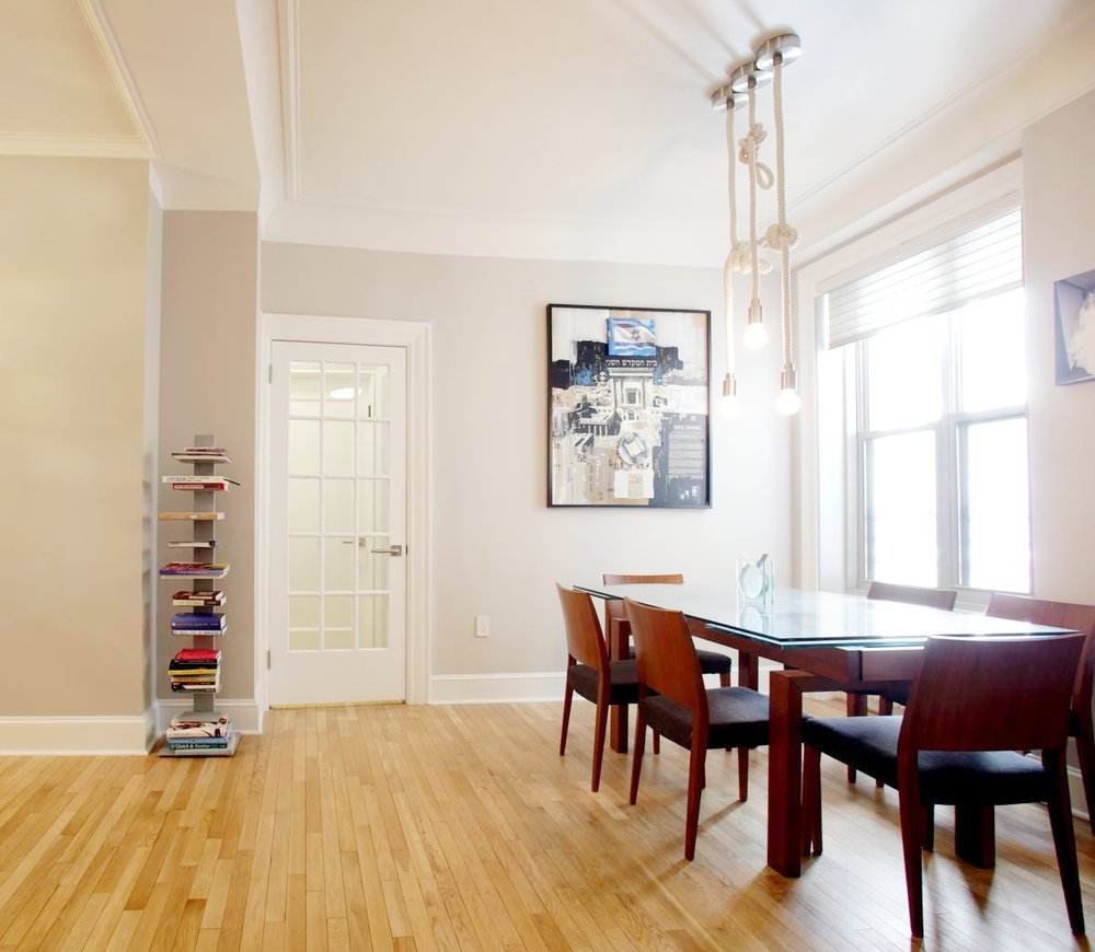 MODERN DESIGN - COLUMBUS AVENUE LIVING & DINING ROOM