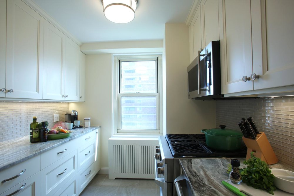 Transitional Design - GRAMERCY PARK KITCHEN