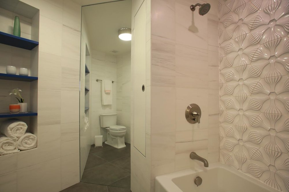 Transisional Design - CREATIVE BATHROOM UPPER WEST SIDE