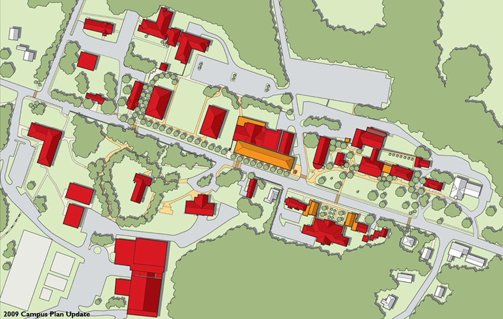 Nichols College Campus Master Plan Austin Architects