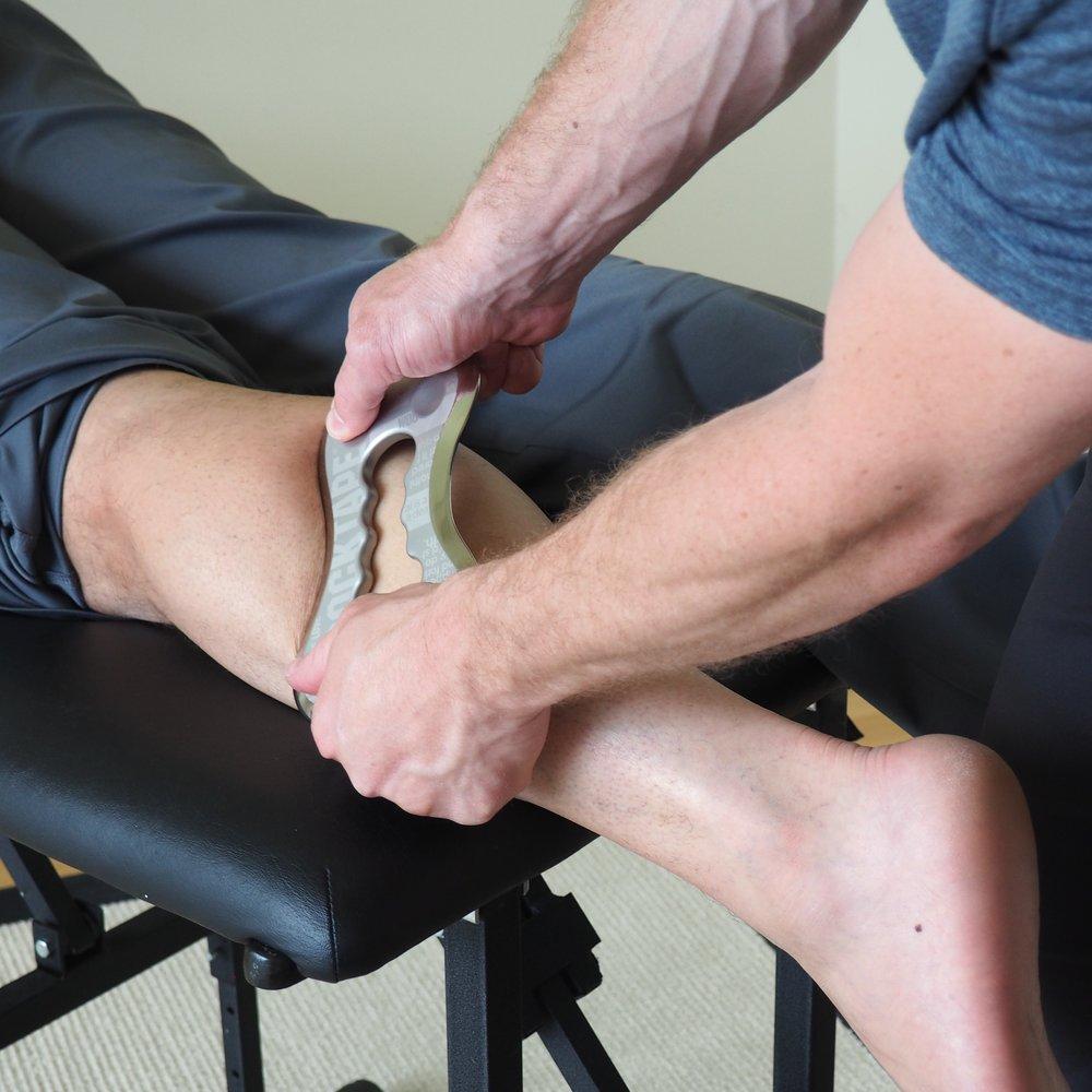 Milwaukee Graston IASTM Leg Pain