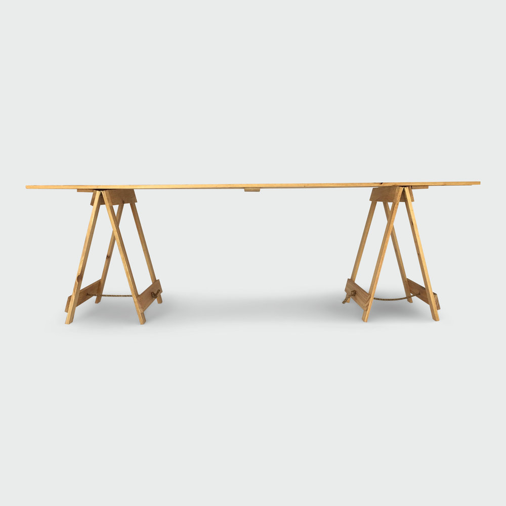 Click to View: Trestle Table