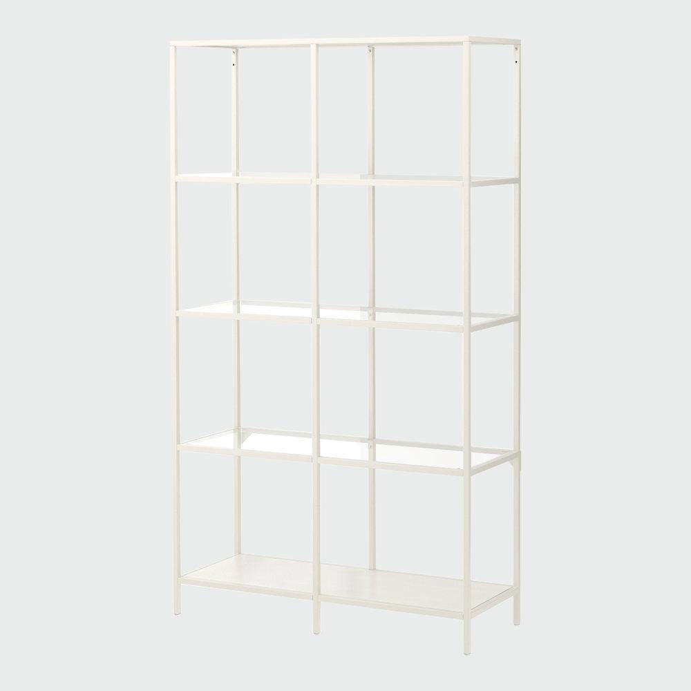 Click to View: White Shelf