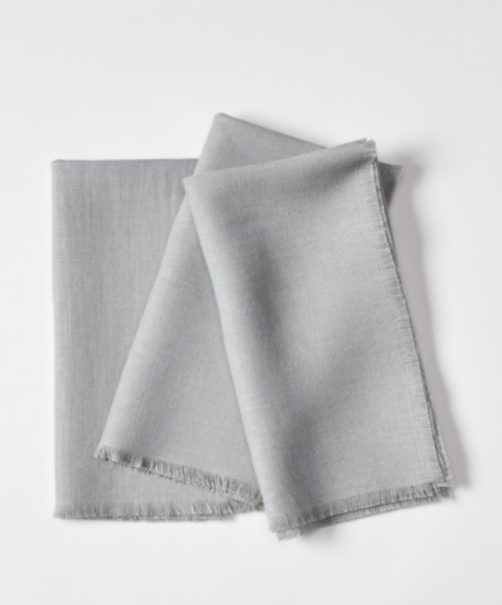Click to View: Light Grey Linen Napkin