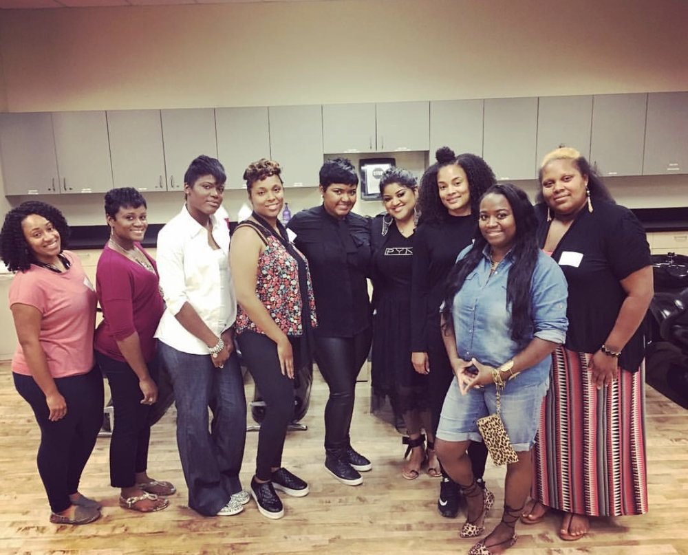 one of our Principles of short hair classes... columbia, sc