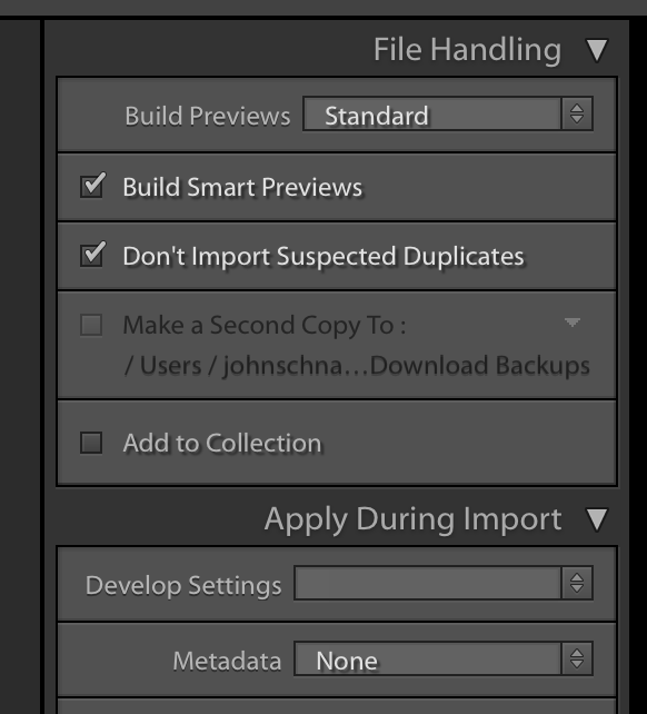 On Import - There are three ways to create Smart Previews. The first is when importing images into a LR catalog, you'll see the