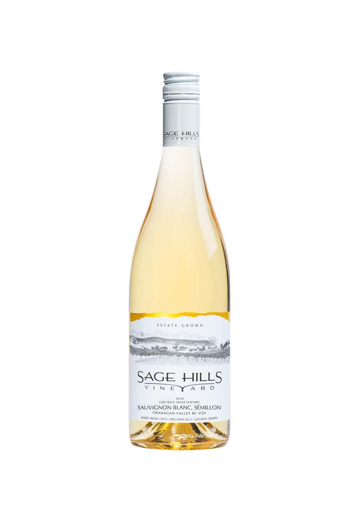 Sauvignon Blanc + Semillon 2018  Sage Hills Winery