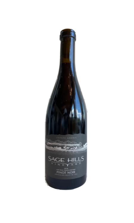 Pinot Noir 2018  Sage Hills Winery