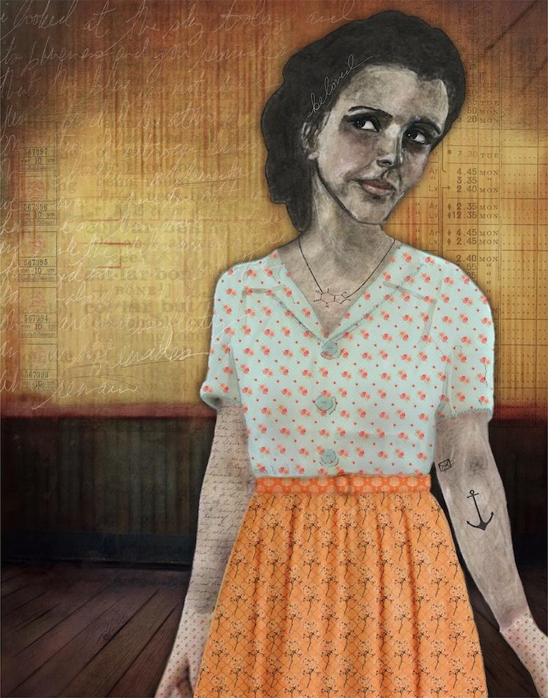 contemporary art by Angela Amias