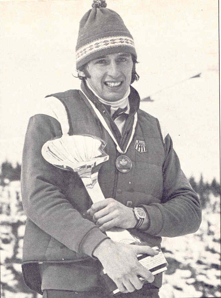 Stan Dunklee - With the sudden emergence of Scandinavians on the collegiate ski teams, it is rare that an American male has won the NCAA individual cross country championship. One of the last was Stan Dunklee, a two-time All-America, former Olympian, four-time All-East selectee, and a 1987 UVM Hall of Fame inductee. A native of Brattleboro, Dunklee returned from the 1976 Olympics in Austria to win the NCAA 15-kilometer race in 1976 at Bethel, Maine. He also won the Eastern 15K titles at Middlebury in 1975 and 1976 to earn first-team All-America honors. A two-time Olympian (1976 and 1980), he was considered - along with Bill Koch - one of America's top cross country ski stars.Soon after graduating from UVM, where he earned a degree in animal sciences, Dunklee would become America's top racer, taking over that ranking from 1976 Olympic silver medallist Koch, who was sidelined with an illness. His coach at UVM, Chip LaCasse, was obviously proud of his athlete's victory in the 1976 NCAAs, but the previous year sticks out in LaCasse's recollection of Dunklee's contributions.