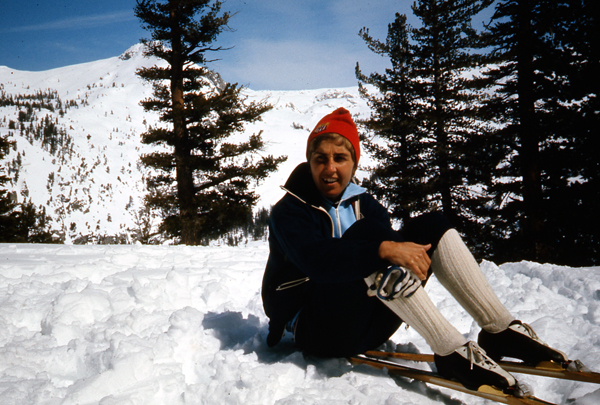 Trina Hosmer - Trina B. Hosmer came to the University of Vermont for her Masters program in 1966. At that time very few women were cross country skiing. She first skied in Putney in 1966, and from that first time on snow, she has strived to perfect her kick and glide. She learned quickly, driven by her natural athleticism and drive to succeed. She was also a nationally caliber 1,500 meter runner, and an avid cyclist.Trina was selected for the First International Women's US Ski Team, competing in the Nordic World Championships in Vysocke Tatry, Czechoslovakia, in 1970. Trina competed for the United States in the 1972 Sapporo Winter Olympics, the first with women's cross country events. While a full time mother and statistical software consultant at UMASS, she continued to race and to share her love of skiing with other women. Trina has won countless medals at Master's Nationals, Master's World Championships. Still a force on the World Master's race circuit, Trina works closely with the New England Nordic Ski Association (NENSA) to foster cross county programs, and invests herself locally to build a stronger base of women skiers; she is a tireless advocate for Nordic skiing.