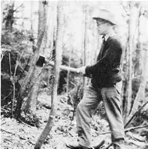 "Charlie Lord (1902-1997) - Charles Lord was a native Vermonter, having grown up and going to school in Stowe. During the height of the depression, in 1933, he came to Stowe after leaving the Vermont Highway Department as a civil engineer. He joined the Civilian Conservation Corps (CCC) as a trail engineer, and by 1938 he was working on designing and building ski trails and recreation facilities throughout northern Vermont. These included what is now the Lord Trail, named in honor of him, at Stowe Mountain Resort on Mt. Mansfield. Charlie Lord stayed in Stowe through World War II as manager of the Mansfield Chairlift Company, and worked on the mountain for four decades, until 1974. He also worked on mountains across the Green Mountains of Vermont with the CCC, engineering numerous now-famous trails and world class New England ski areas.Charlie Lord was a civil engineer who studied the mountains of Stowe on foot, and maybe airplane; he laid out and hand drafted topo maps of all the original ski trails, well before anything was computer or mechanically reproduced, (other than actual blueprints). He was an integral part of the small circle of history-making skiers and engineers back in the early forties that transformed Vermont into a winter recreation region.""He was also an avid and capable skier, holding National Ski Patrol appointment number 61."