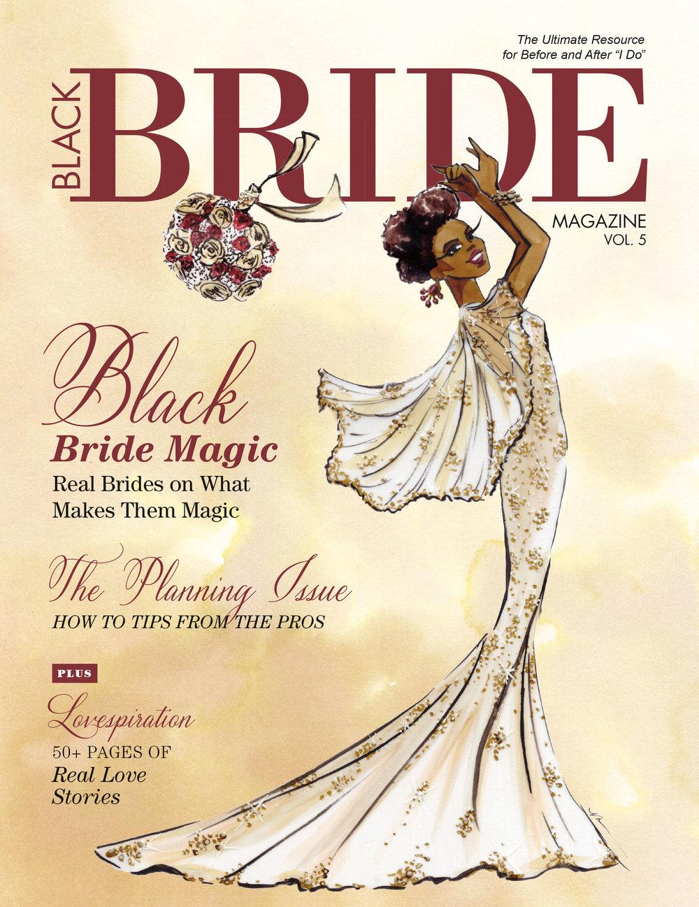 Black Bride Magazine Cover