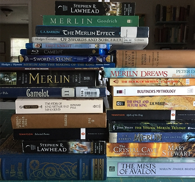 here is (most of) the stacks of books i read and took notes and quotes from before beginning this piece. i borrowed other movies and tv shows not shown here, and found a few more books about the house with bookmarks partway through that didn't make it into the photo. needless to say, i did not lack for reference material or story inspiration!