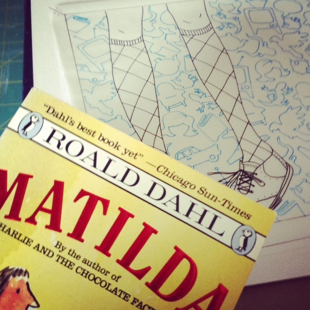 "oh, man, i love roald dahl. and ""matilda"" is the coolest little bookworm you ever did have the privilege of reading about. unless you know her? could you introduce me, please?"