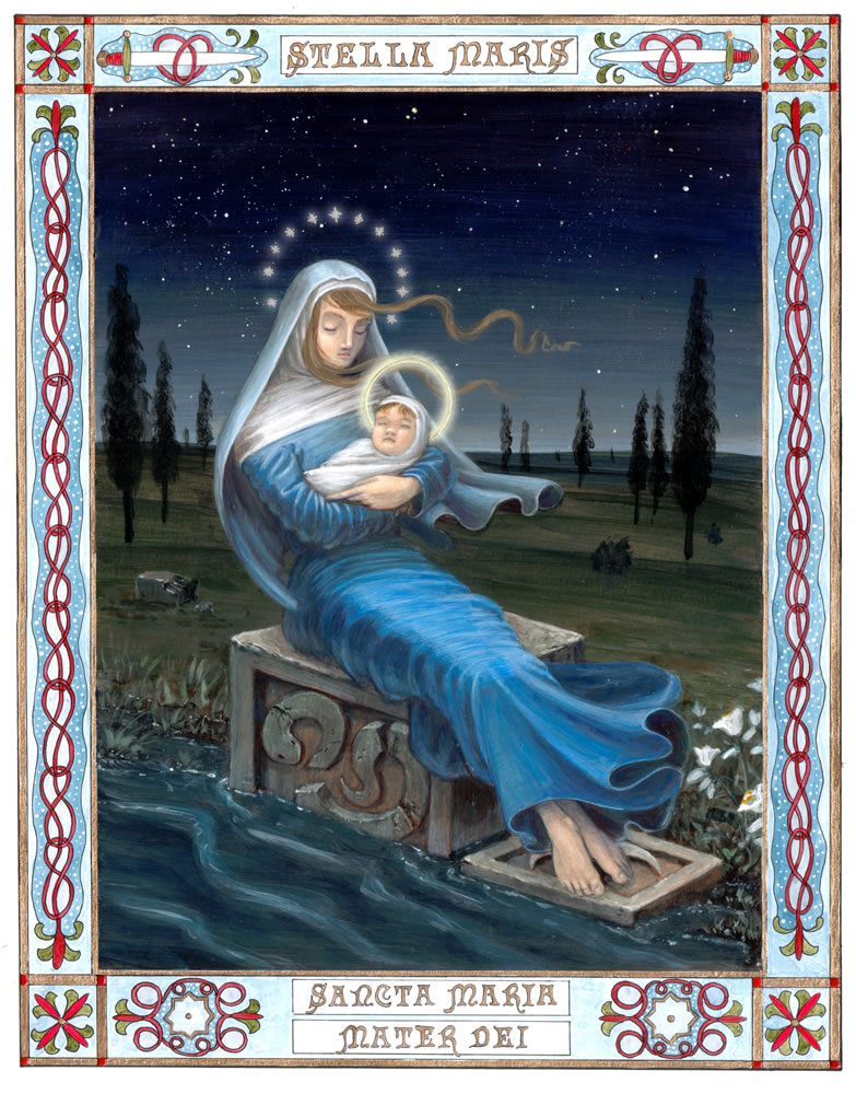 """Mary, Star of the Sea"" by Michael Genova"