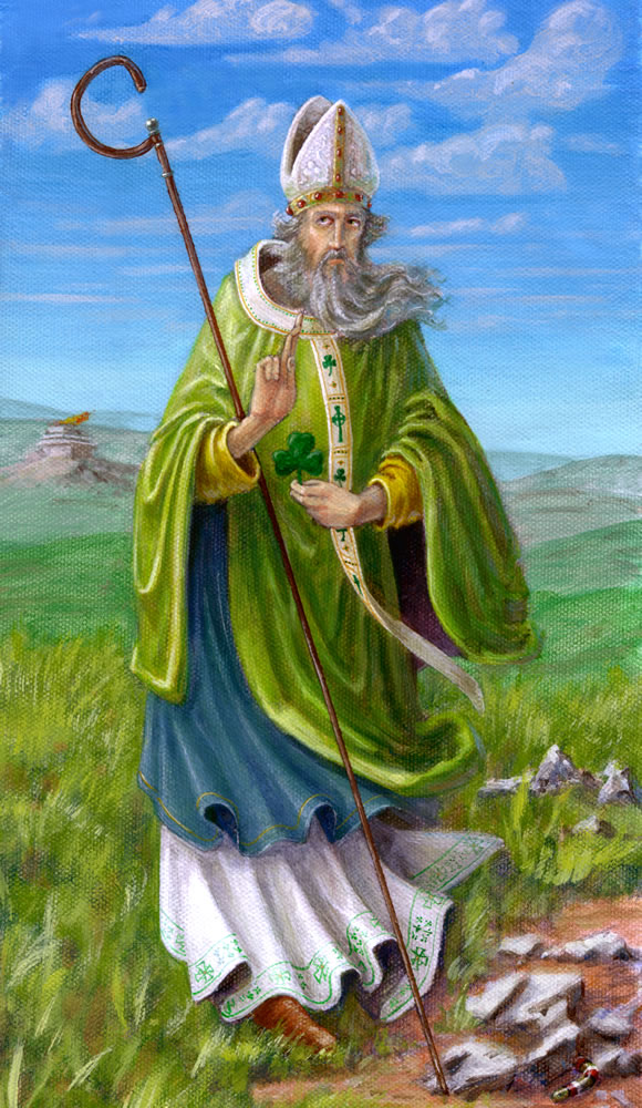 """""""Saint Patrick"""" by Michael Genova"""