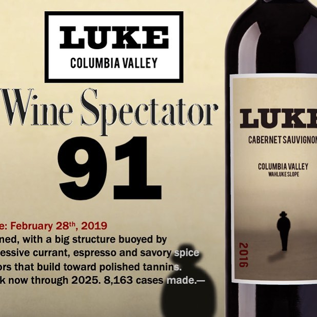 Another nice review from Wine Spectator!