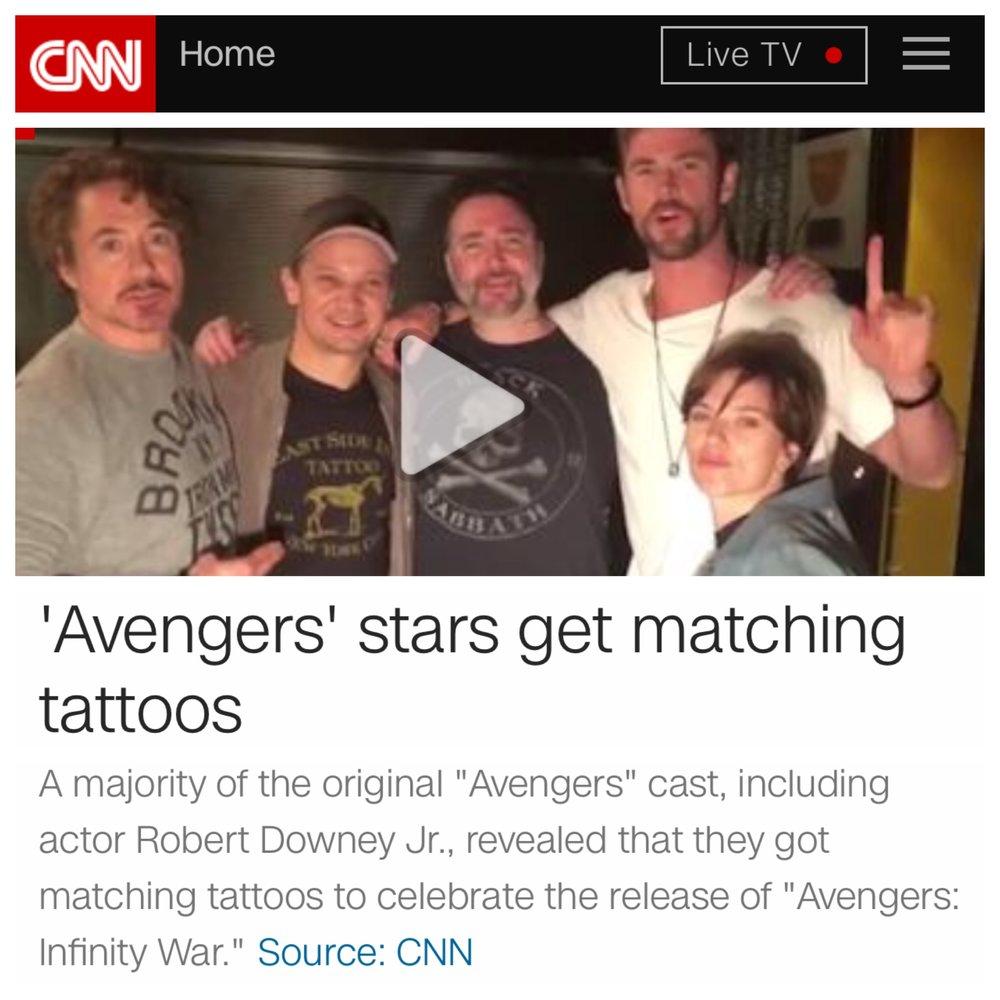 CNN AVENGERS