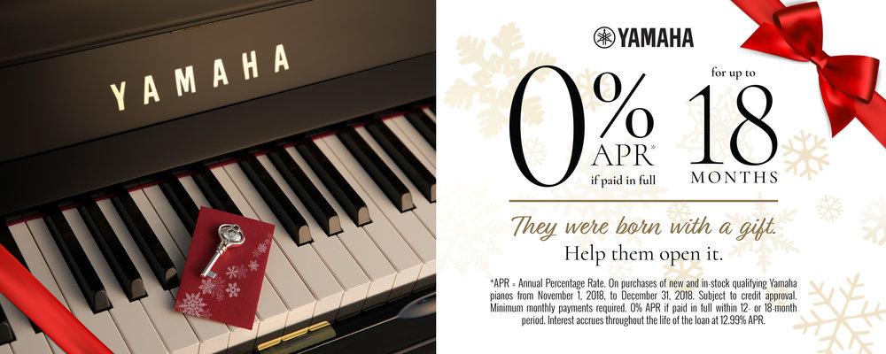 Yamaha Piano Promotion