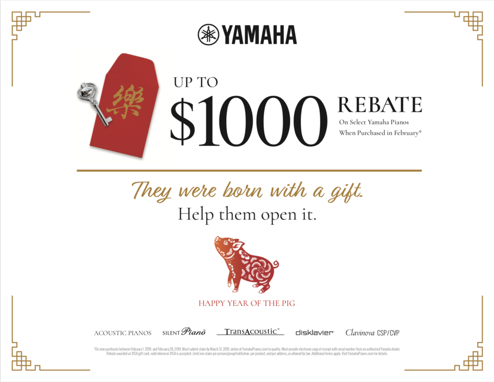 Yamaha Piano Promotion