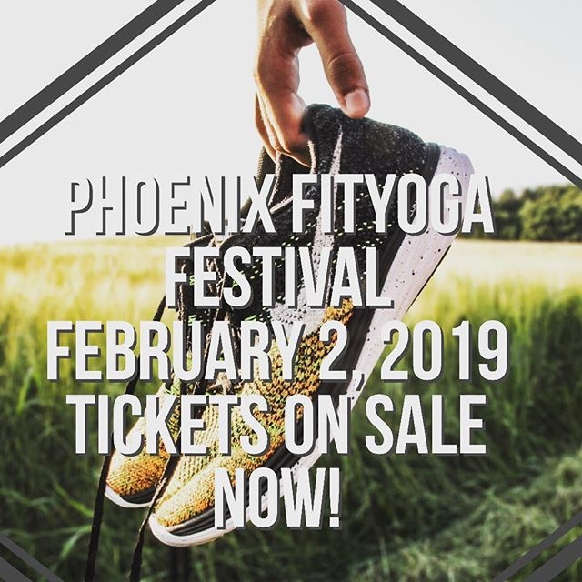 Join us for the 1st Annual Phoenix FitYoga Festival in Mesa on February 2nd, 2019. A day of outdoor Yoga and Fitness classes 8:30am-2:30pm. Rise & Shine with live music+yoga, hip hop yoga flow, vinyasa and more! Check out the full lineup www.soulsync.live/azfest Tickets on sale now! #soulsyncfest  #phx #mesaaz #phoenixyoga #phoenixyogacommunity #activelifestyle #livemusicphoenix #phoenixevents #phoenixfitness #arizonaevents #phxevents #thingstodoinphoenix #azfitness #yogaandfitness