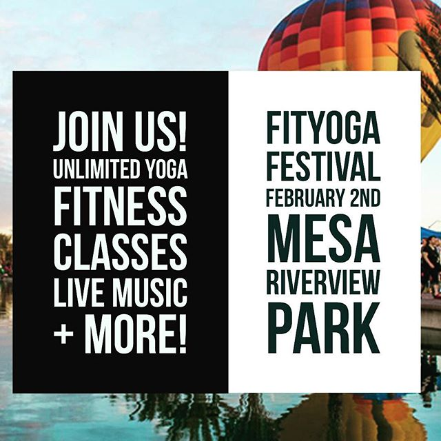 Are you ready Phoenix?  SOULSYNC FitYogaFestival is coming February 2nd! Elevate your mind, body and soul with over 20+ yoga and fitness classes all led by top local instructors. Come show your support! Tickets on sale soon! #phxyoga #phoenixyoga #phoenixfitness #azfitness #phoenixevents #mesaarizona #scottsdaleaz #phx #mesaaz