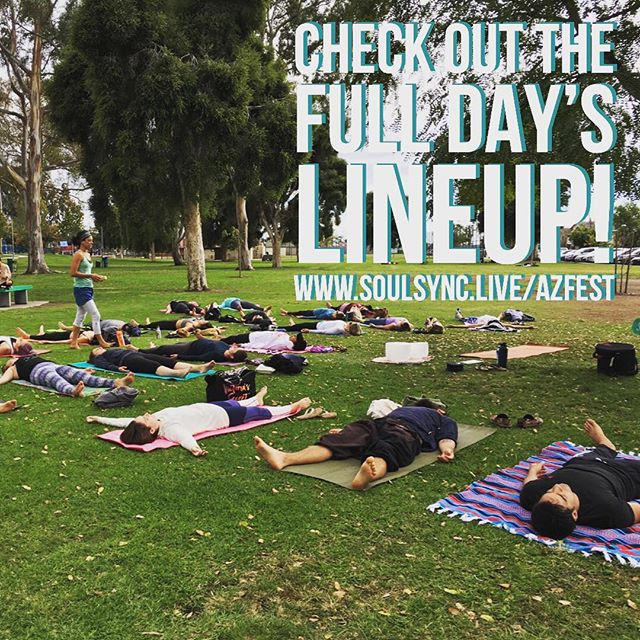 #phoenix #scottsdale #mesa #tempe #phoenixyoga Check out the full FitYoga Festival lineup coming to Mesa! Take unlimited yoga and fitness classes for the day, 12+ classes offered! Portion of proceeds will go to @empowerthroughplay Full schedule at www.soulsync.live/azfest