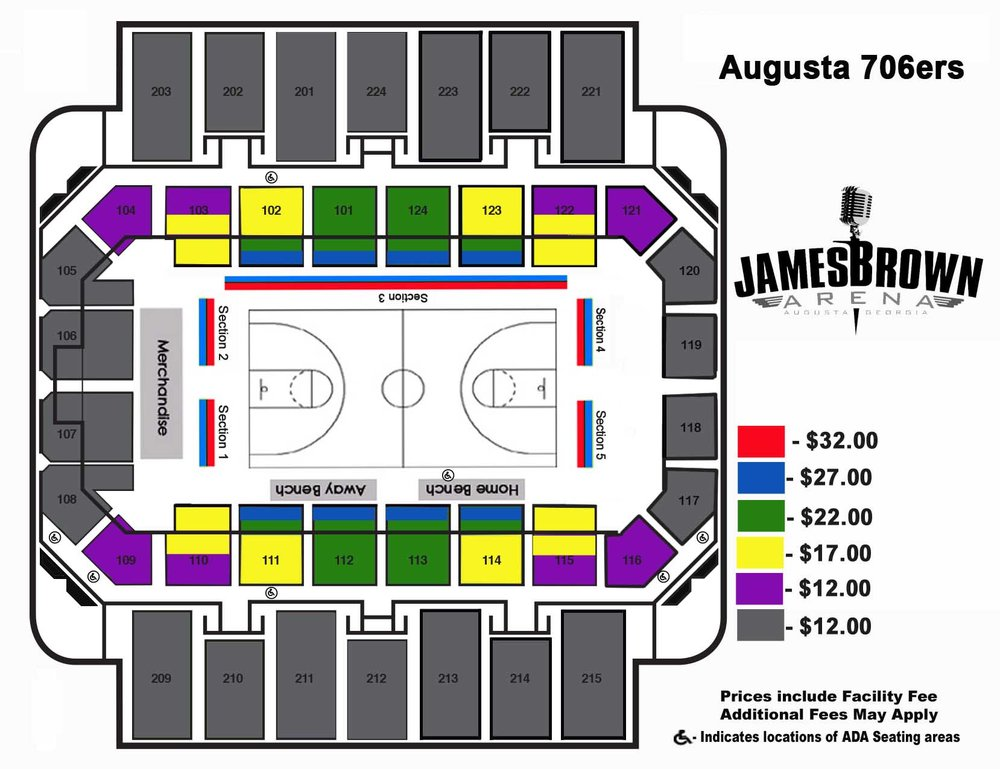 seating chart single ticket
