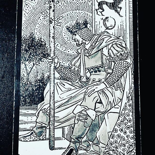 The King of Wands represents pure fire energy. Unlike the other Wands court cards, he is not so interesting in actual creation and creativity, or in dreaming up ideas and implementing them himself. Instead, he is more inclined to take an idea and change the world to match his vision. As such he is a natural-born leader of all kinds of people, and he is very visionary. Once he sets himself a goal, he sticks to it and ensures that he can make it happen with the support of those around him. People naturally gravitate towards this King as they know he will get things done and will do it very well. He is a master, too, at being able to get other people to do his work for him, and keep them on-side throughout the process. The King of Wands looks forward to challenges because he enjoys the natural rush of adrenalin associated with solving a difficult problem and coming to a solution that will benefit not just one person but many people. In the process, he not only rids himself of his own fear but that of others, by reassuring them that they shall all succeed. He is not all talk, either, and when the going gets tough, he is prepared to do the hard yards to see something through to the end. The King of Wands has a deep and innate respect for other people, and his compassion extends far. He knows how to bring out the best in others and to empower them to deliver his visions and goals, which he knows will be of benefit to the greater population. The King of Wands is an indication that you are someone who is very visionary and goal-oriented. You achieve a lot because you are very clear about your future direction and how you will get there. You do not waste your time on activities or relationships that you believe will lead no-where. You never just go with the flow, instead you prefer to embark on a strong and direct course of action. The King of Wands reminds you to lead your life with intent, vision and a long-term view. Know that even though you are experiencing challenges n