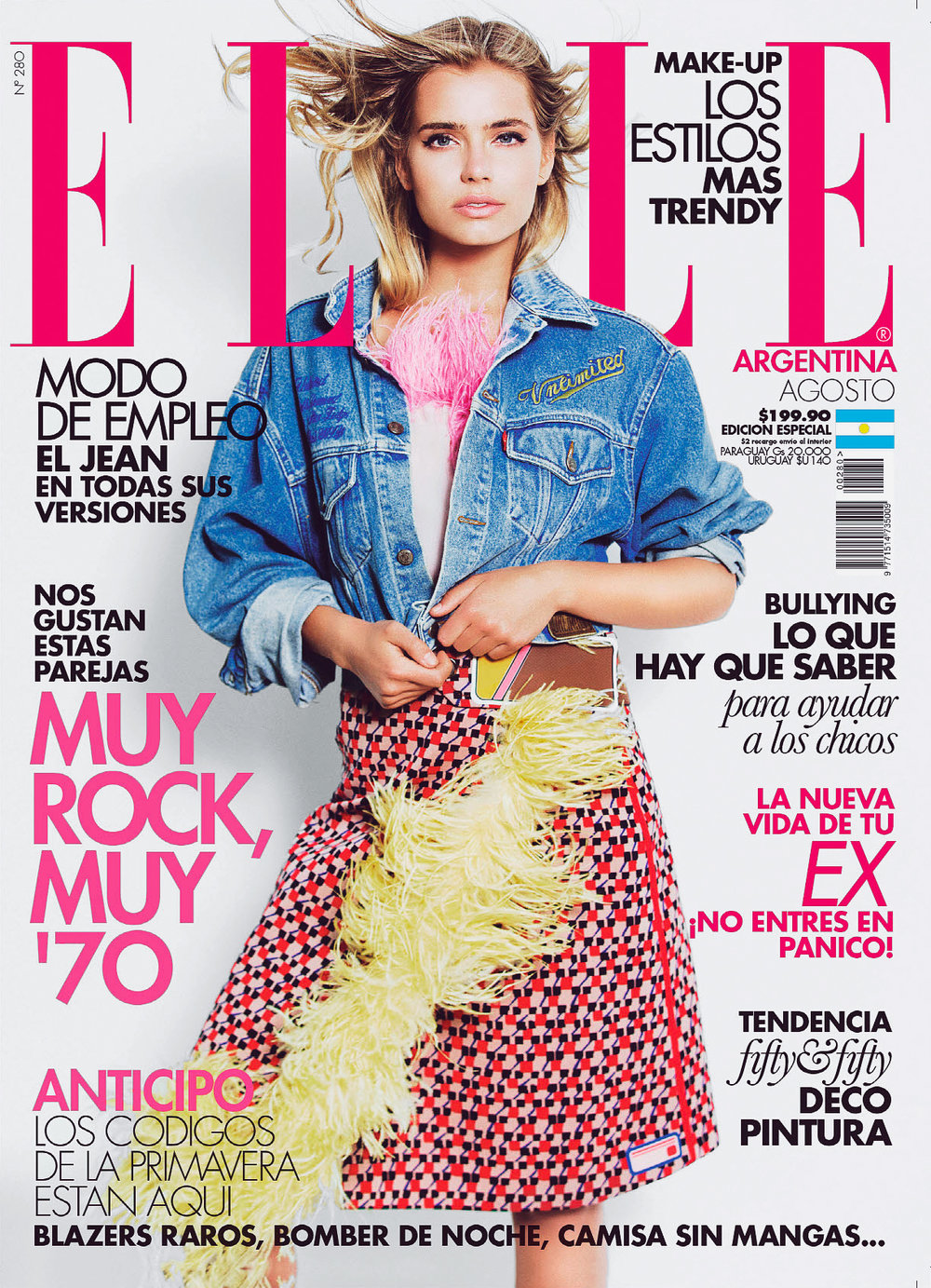 Elle Argentina Cover -