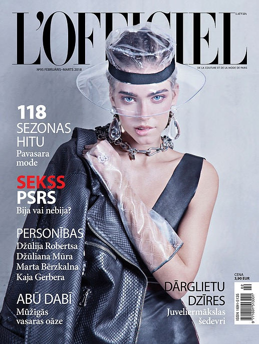 L'Officiel Latvia Cover -