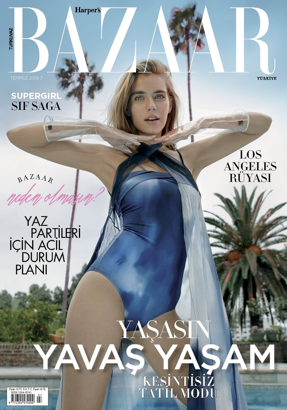 Harper's Bazaar Turkey Cover  -