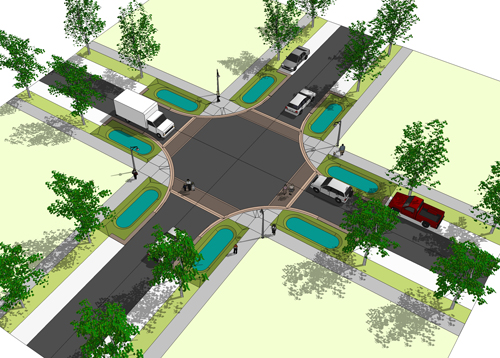 Pringle Street Plan