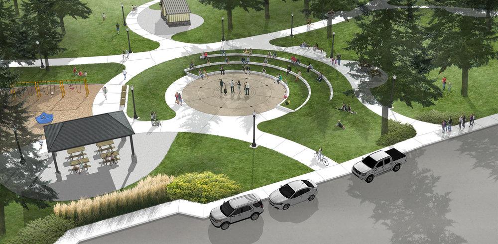 Beau Crown Park Master Plan