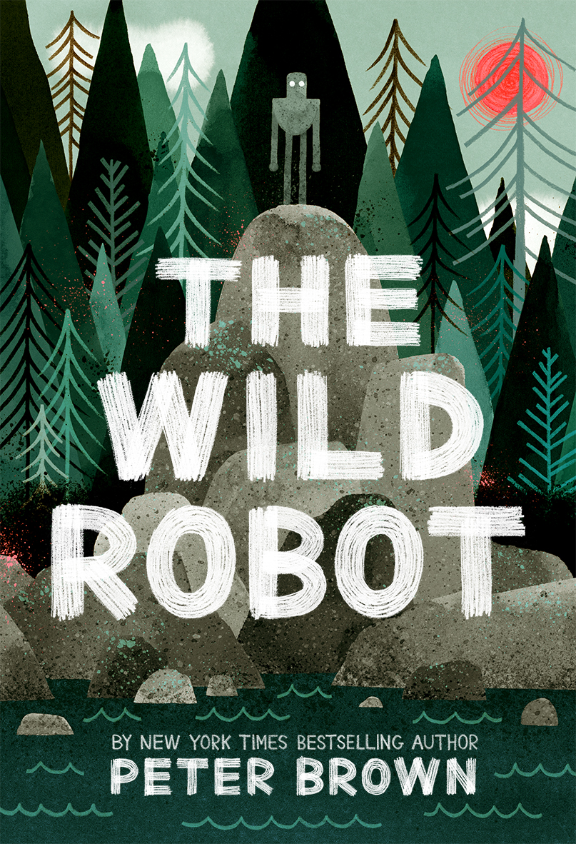 """The Wild Robot - by Peter Brown""""Despite being a children's book, this easy reader has interesting parallels with our modern world. It gives me hope that in our robotic and busy lives, that we can communicate and become one with nature if we give ourselves the time and space. Or maybe I'm missing the subtext and it's really about artificial intelligence and collusion. You'll just have to read it for yourself.""""- Ben Johnson (+ his son Henry), Associate, Landscape Architect"""