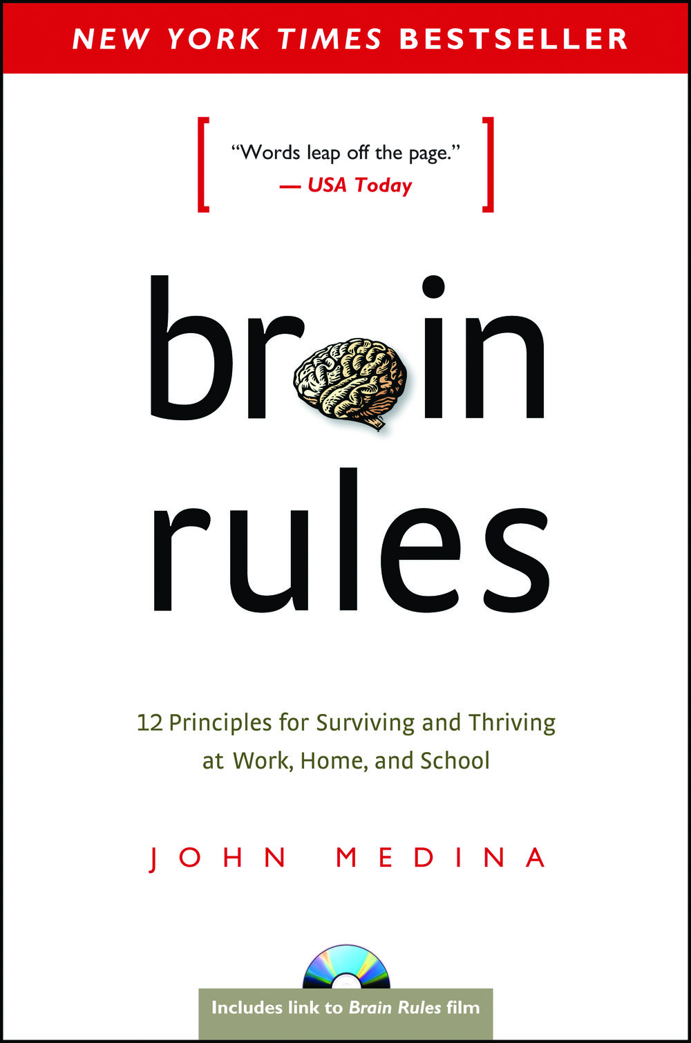 """Brain Rules - by John Medina""""This book details 12 """"brain principles"""" useful for everyday life and work. By showcasing the inner-workings of our brains and helping people outside of the neuroscience fields to better understand their brains; the book helps individuals capture how we can work with – not against – our minds by better understanding them. Intersecting topics/principles cover memory sleep, memory, and gender differences.""""- Wes Shoger, Landscape Architect"""