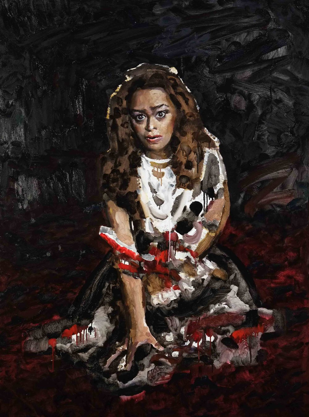 Unmannerly breech'd with gore (Lady Macbeth) 2015