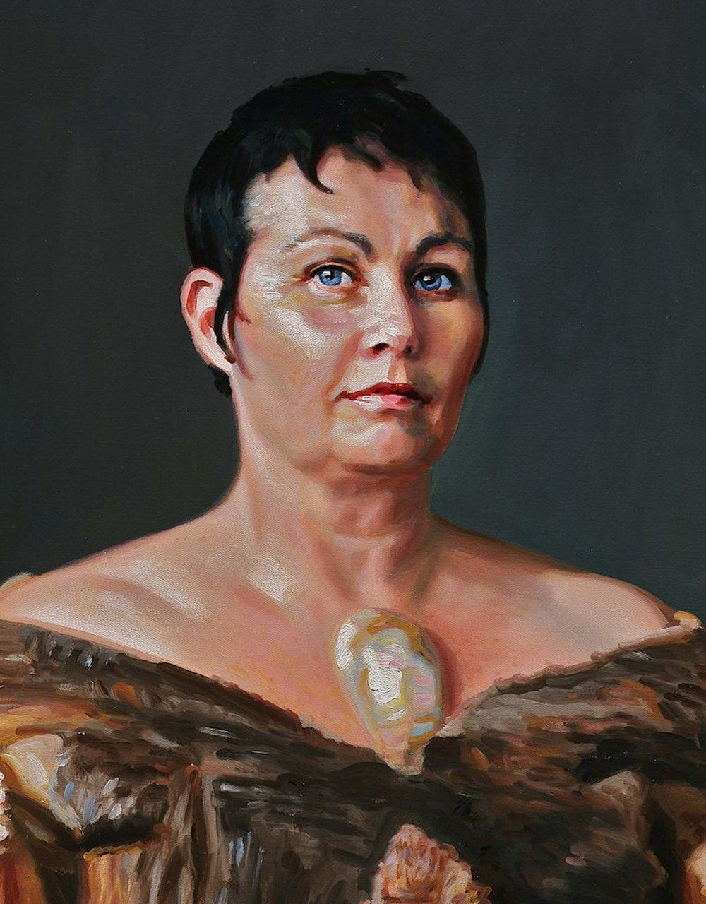 Heiress II (portrait of Joan Ross) 2009