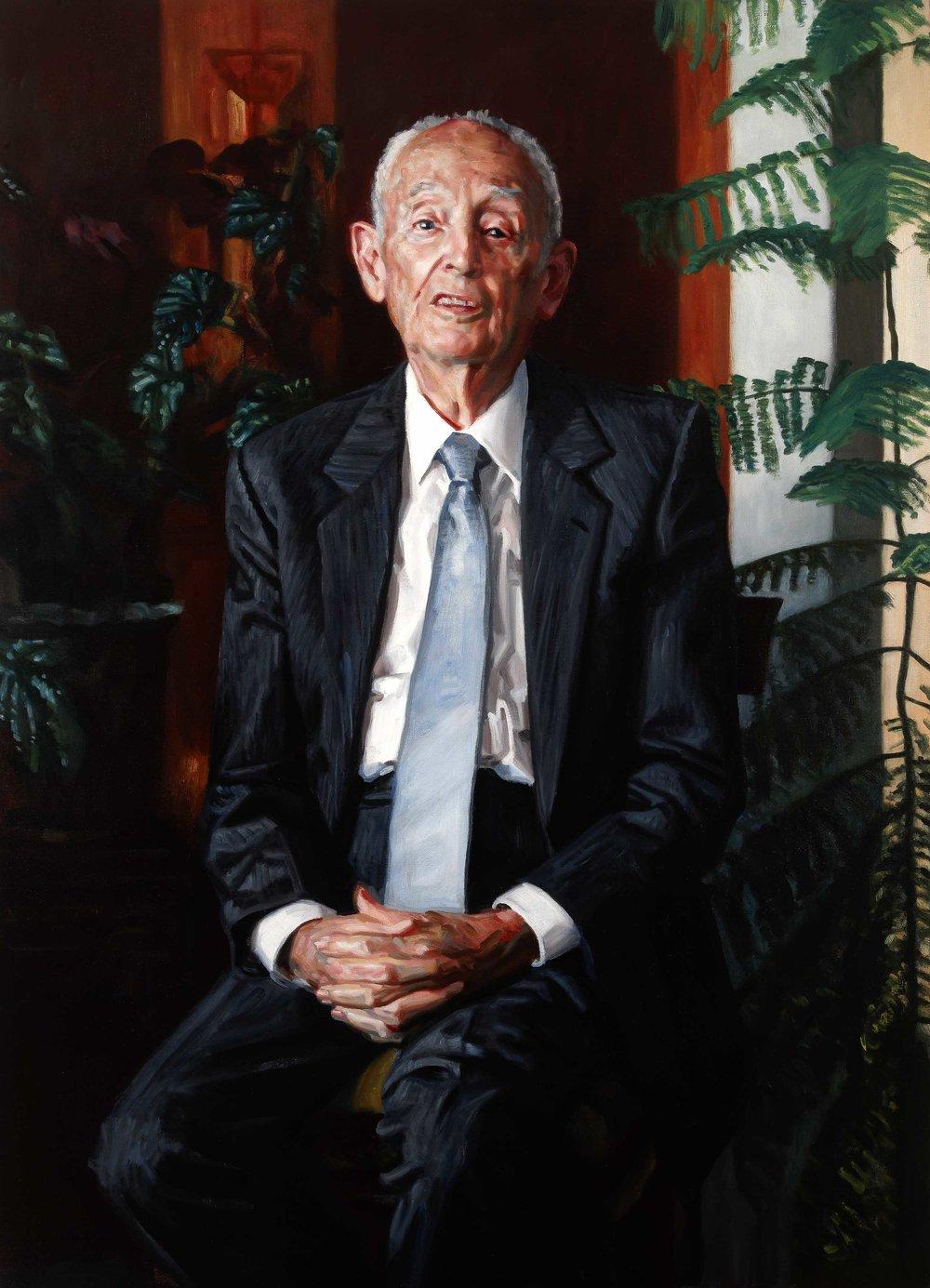 Professor Ruthven Blackburn (2010)