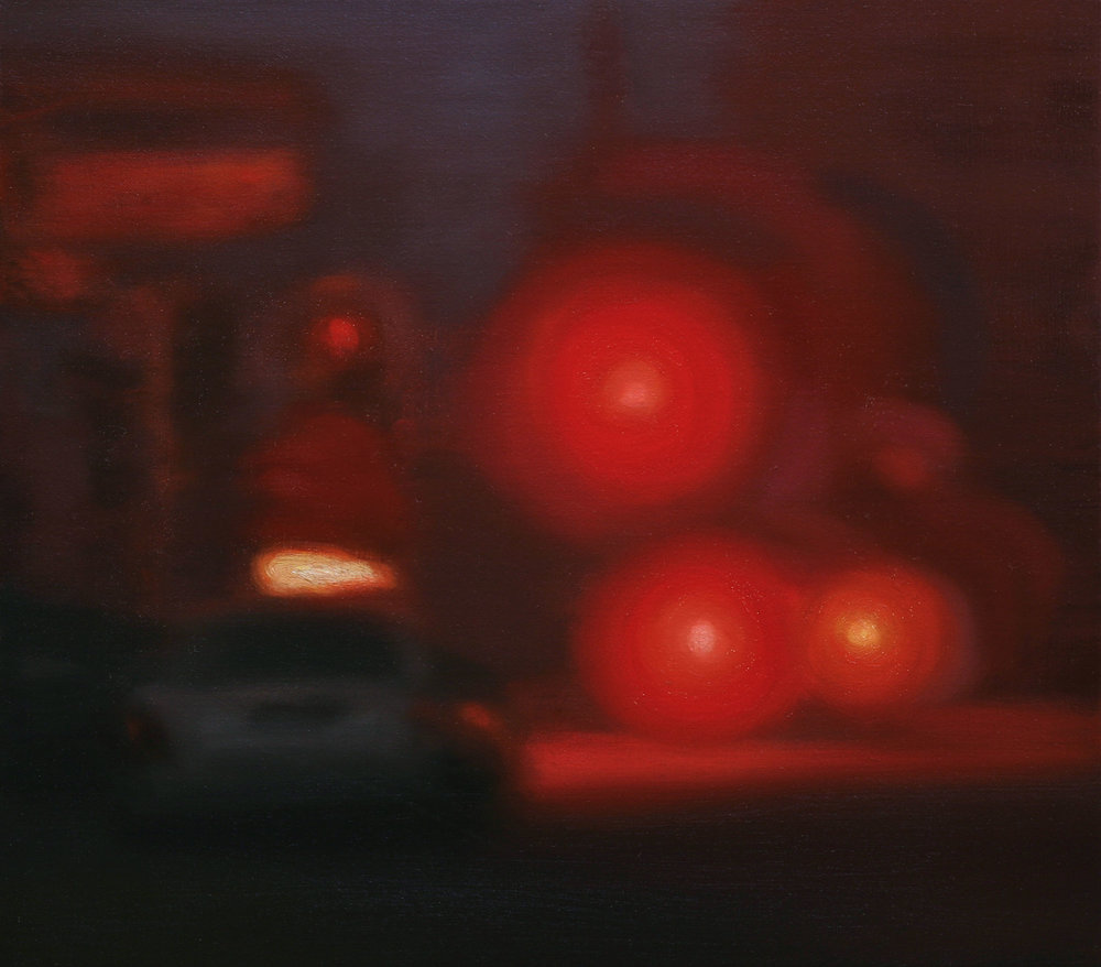 Red Morning (2008 - 41x46cm, Oil on Linen)