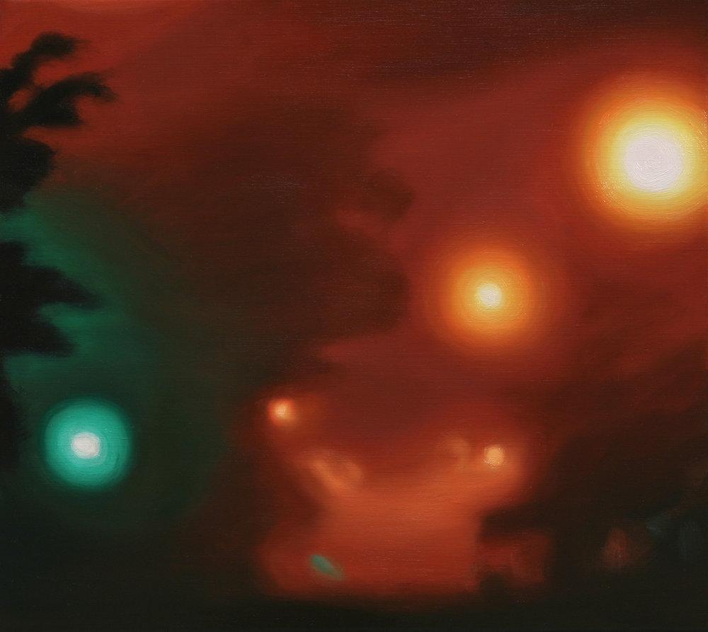 Presence (2008 - 41x46cm, Oil on Linen)