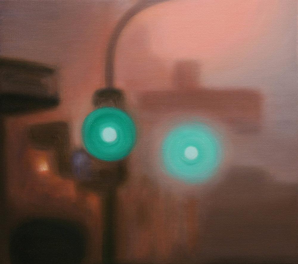 Morning Green (2008 - 41x46cm, Oil on Linen)