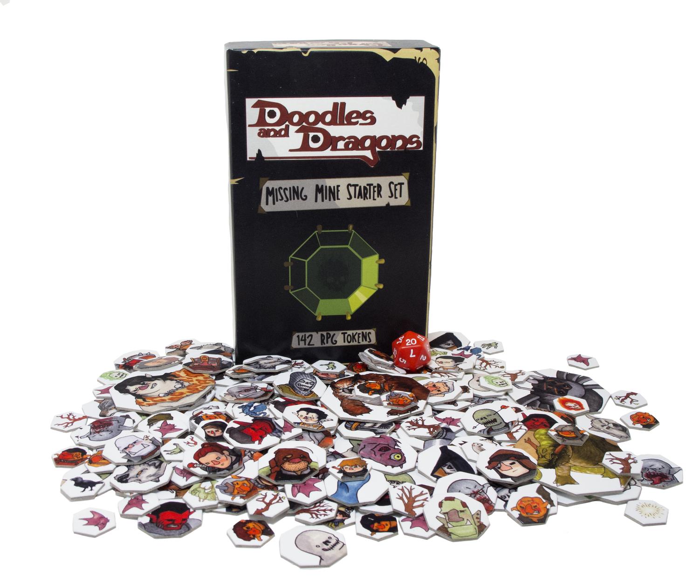Missing Mines Starter Set — Doodles and Dragons