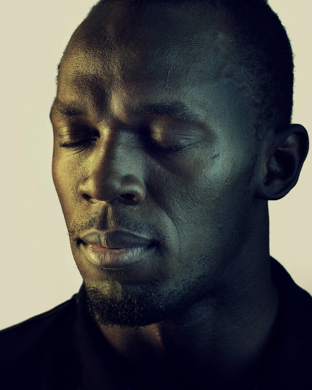 SIMON HARSENT USAIN BOLT ATHELETE OUTTAKE FROM GIBSON
