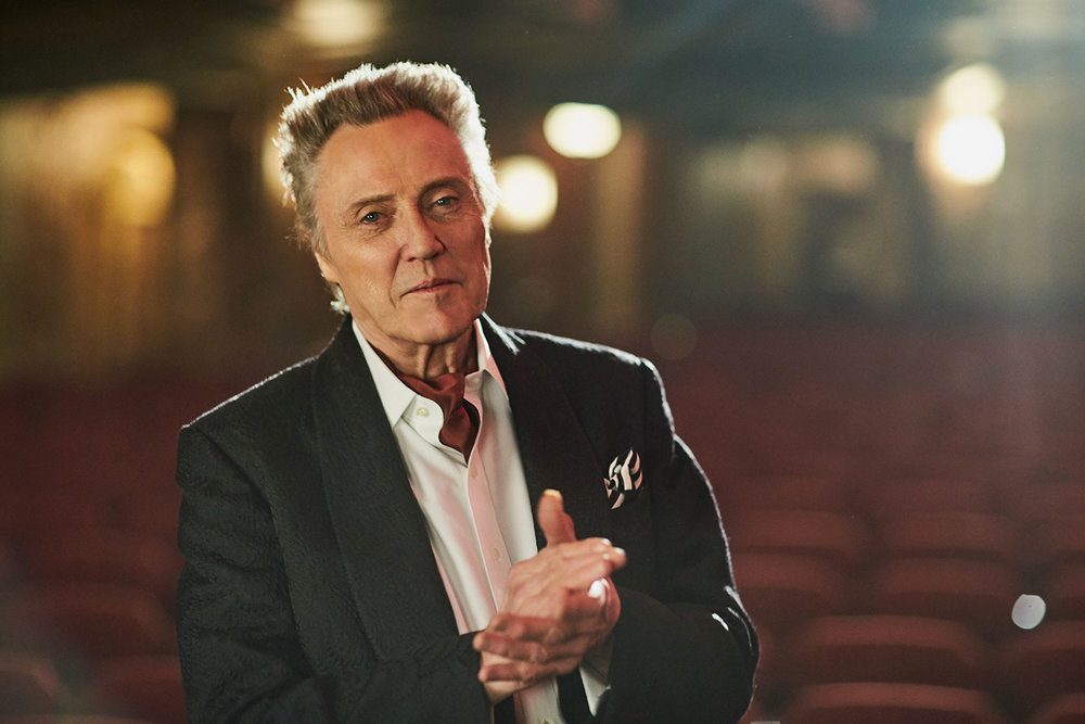 CHRISTOPHER WALKEN  ACTOR OUTTAKE FROM QANTAS